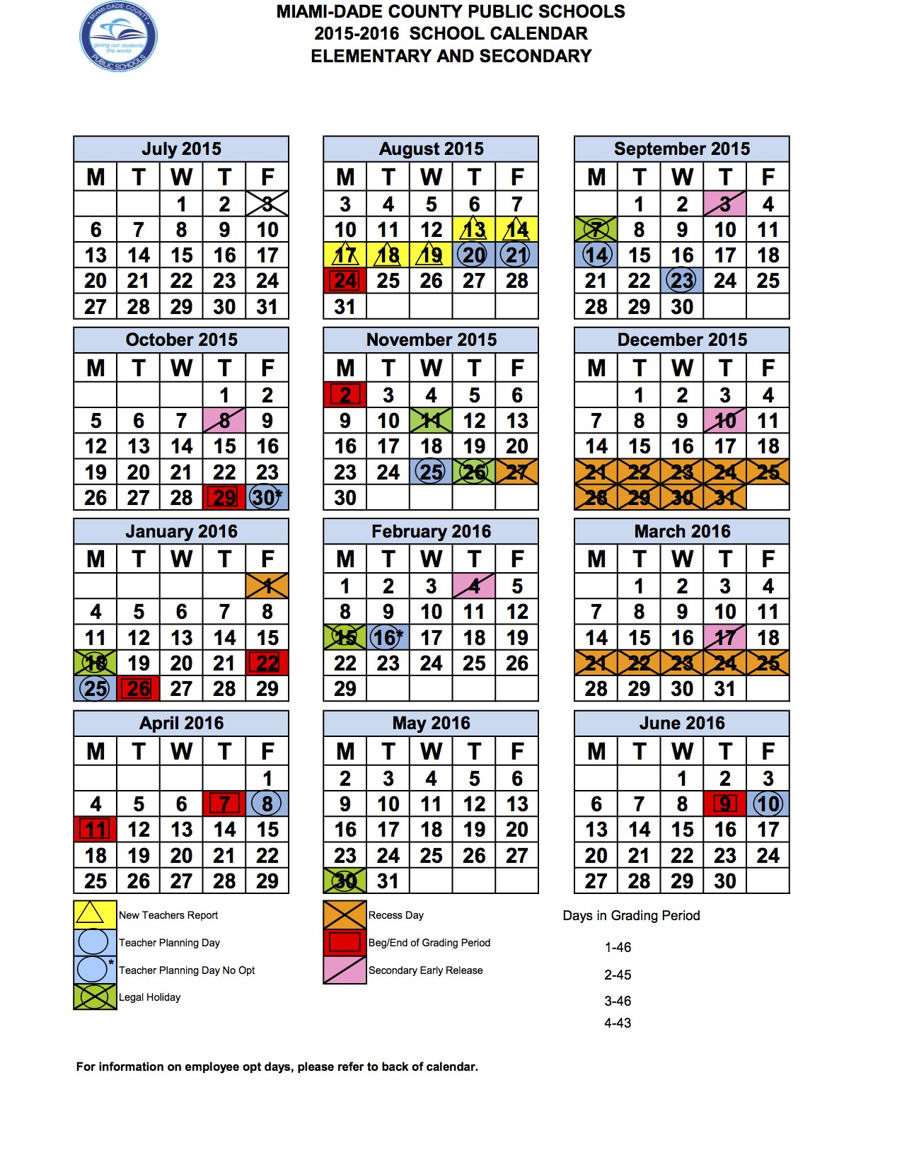 "Calendar Website : Search results for ""miami dade public calendar"